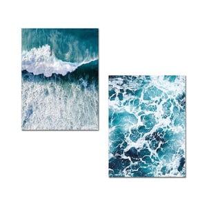 Sada 2 obrazů Onno Waves