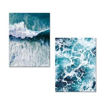 Set 2 tablouri Onno Waves