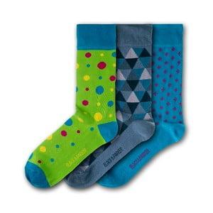 Sada 3 ponožek Black&Parker London Pine Lodge, velikost 37 – 43