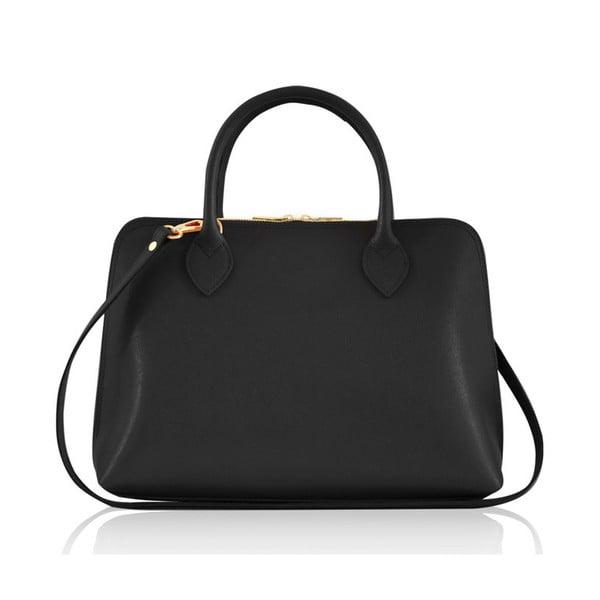 Kožená kabelka Penny, černá