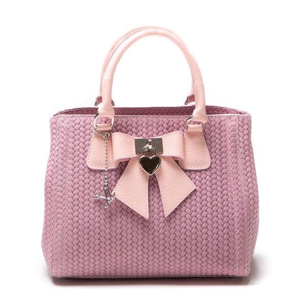 Kožená kabelka Luisa Vanini 872 Rosa