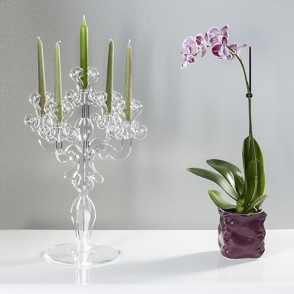 Stojan na svíčky Vittoriale Total Transparente