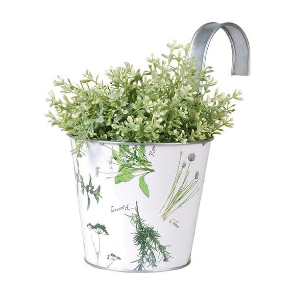 Závěsný kulatý truhlík Herbal Time