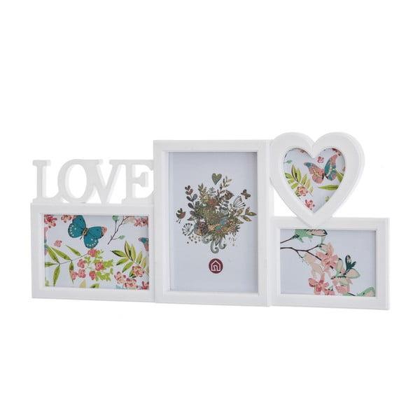 Fotorám pro 4 forografie Unimasa Love, 46 x 22 cm