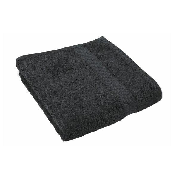 Čierny uterák Tiseco Home Studio, 50 × 100 cm