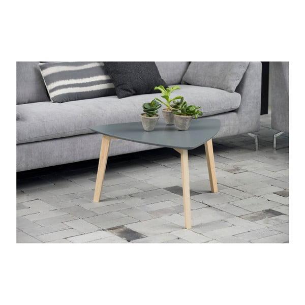 Šedý odkládací stolek Actona Vitis, výška 45 cm