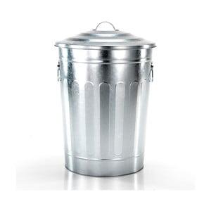 Odpadkový koš ve stříbrné barvě Tomasucci America