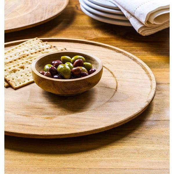 Dřevěný talíř Takara
