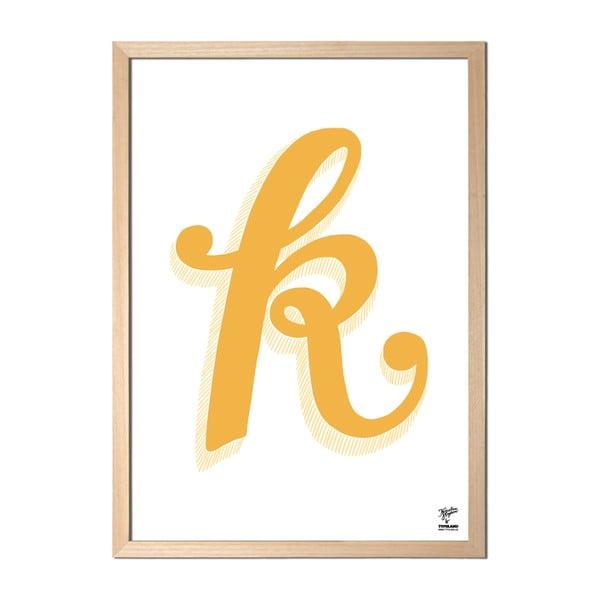 Plakát K od Karolíny Strykové