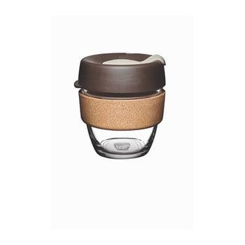 Cană de voiaj cu capac KeepCup Brew Cork Edition Almond, 227 ml imagine