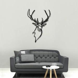 Nástěnná dřevěná dekorace Stag Head