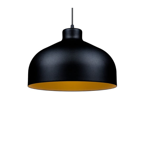 Černo-zlaté stropní světlo Loft You B&B, 22 cm