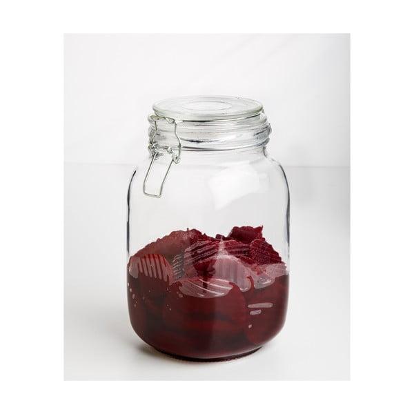Sklenice Glass Jar, 1500 ml