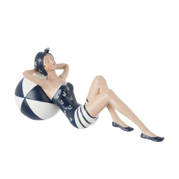 Dekorativní objekt Lying Woman in Swimsuit