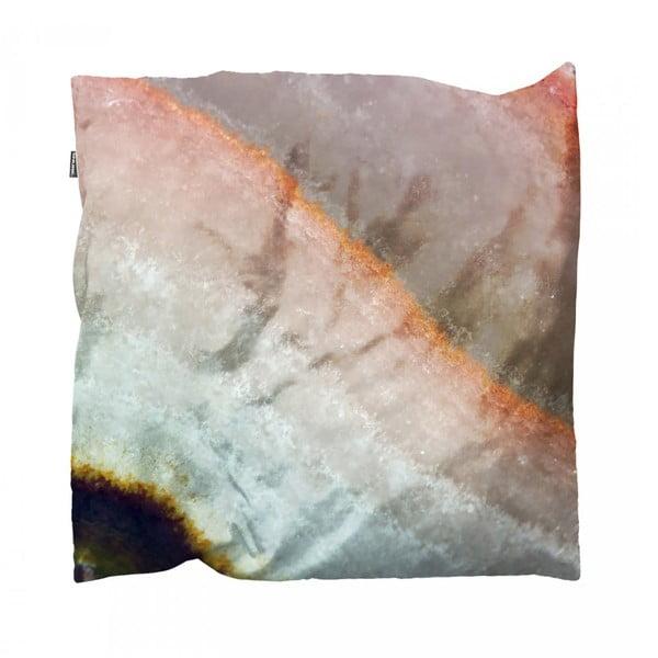 Růžový povlak na polštář Snurk Mineral, 50x50cm
