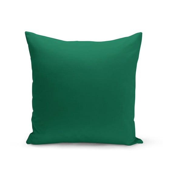 Zelený polštář s výplní Lisa, 43 x 43 cm