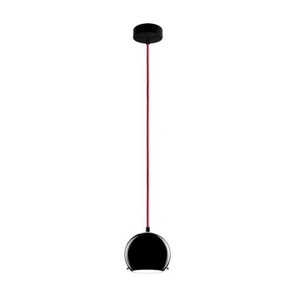 Světlo MYOO black/red/black