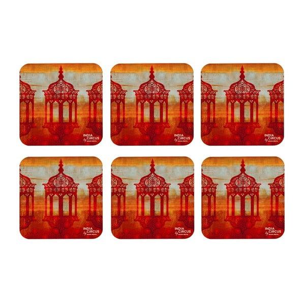Podtácky Minaret Mystique, 6 ks