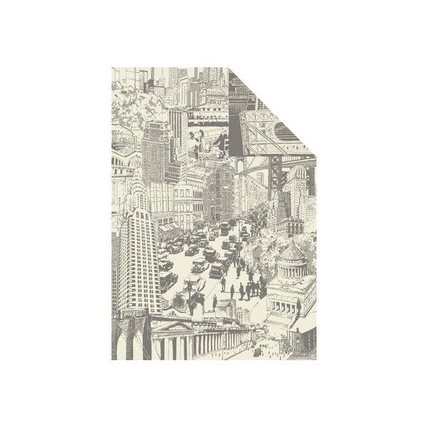 Deka Gots, 140x200 cm, motiv města