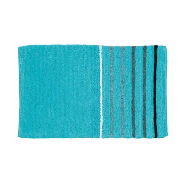 Koupelnová podložka Ladessa, modrá, 50x80 cm