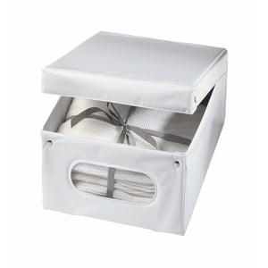 Bílý úložný box Ordinett Top Class, 36x48x19cm