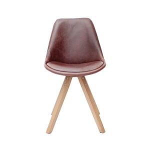 Hnědá  jídelní židle LABEL51 Bari