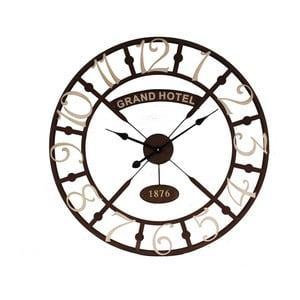 Nástěnné hodiny AnticLineGrand Hotel