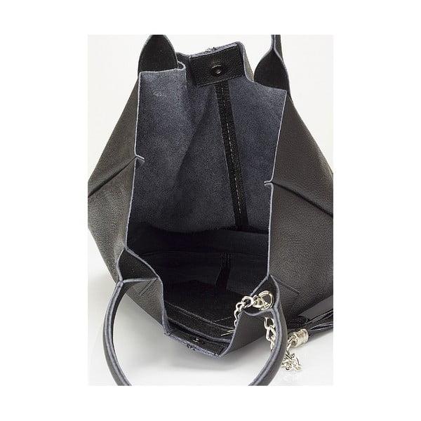 Kožená kabelka Giorgio Costa 15025 Black