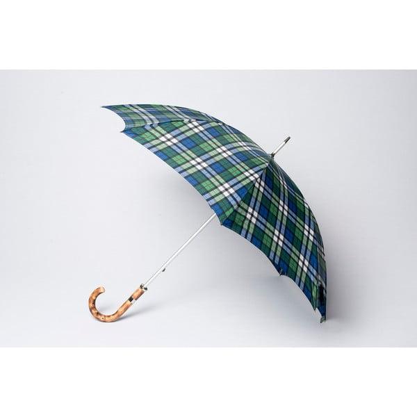 Deštník Tartan, modrý