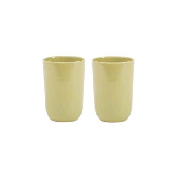 Bambusové skleničky Olive, 2 ks