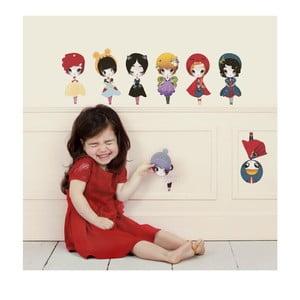Samolepka Dress Up Dolls Small, 8 ks
