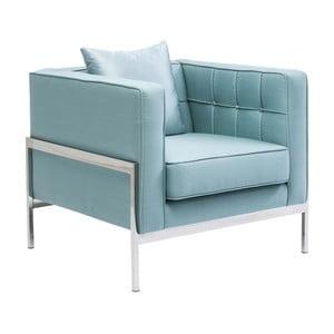 Fotoliu Kare Design Loft, albastru deschis