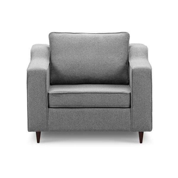 Narcisse sötétszürke fotel - Mazzini Sofas