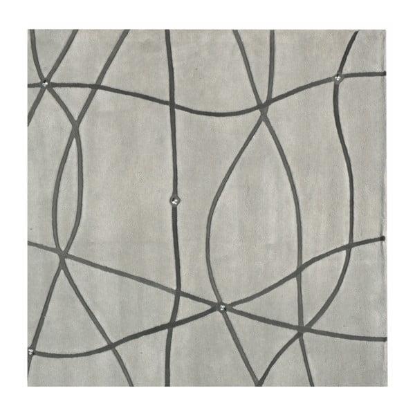 Koberec Map Grey, 140x200 cm