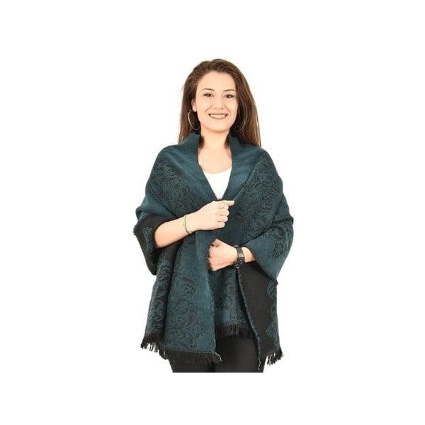 Bavlněná deka Bonita Petrol,180x60cm
