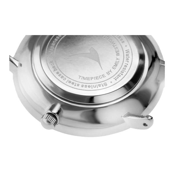 Dámské hodinky s páskem z nerezové oceli šedé barvy Emily Westwood