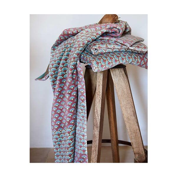 Ručník Blooming Tails Khaki, 30x50 cm