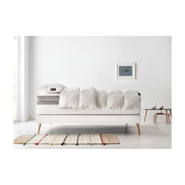 Set dvoulůžkové postele, matrace a peřiny Bobochic Paris Bobo,140x190cm