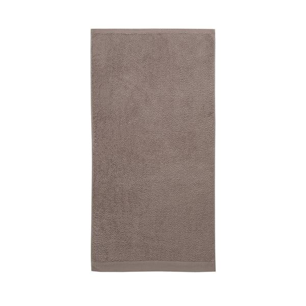 Sada 3 hnědých ručníků z organické bavlny Arli Pure, 60x110 cm