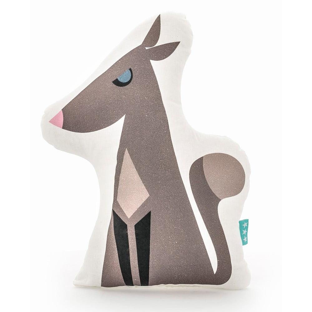 Bavlněný dětský polštářek Mr. Fox Wolfie, 40 x 30 cm