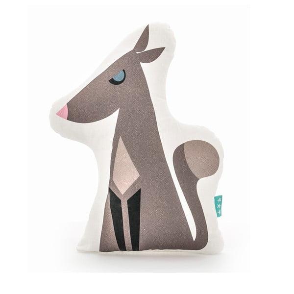 Bavlněný polštářek Mr. Fox Wolfie, 40x30cm