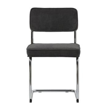 Scaun Unique Furniture Rupert Bauhaus, negru