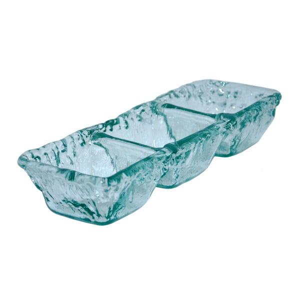 Újrahasznosított üveg tapasz tálka - Ego Dekor