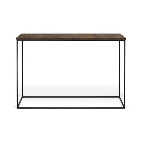 Konzolový stolek s deskou z červeného mramoru TemaHome Gleam