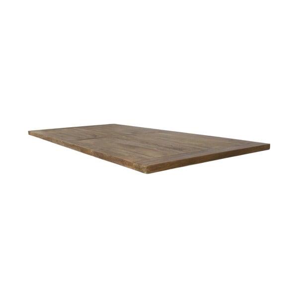 Deska stolu z teakového dřeva HSM collection, 210 x 100 cm