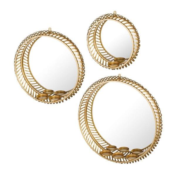 Sada 3 zrcadel Arabian Gold