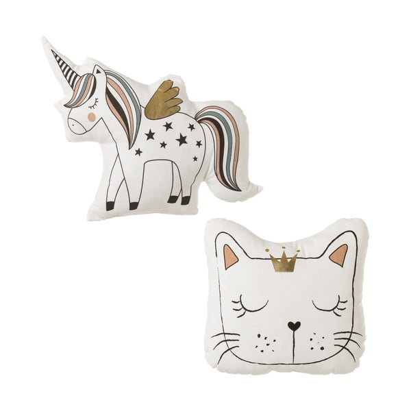 Set 2 perne Unimasa Unicorn Cat
