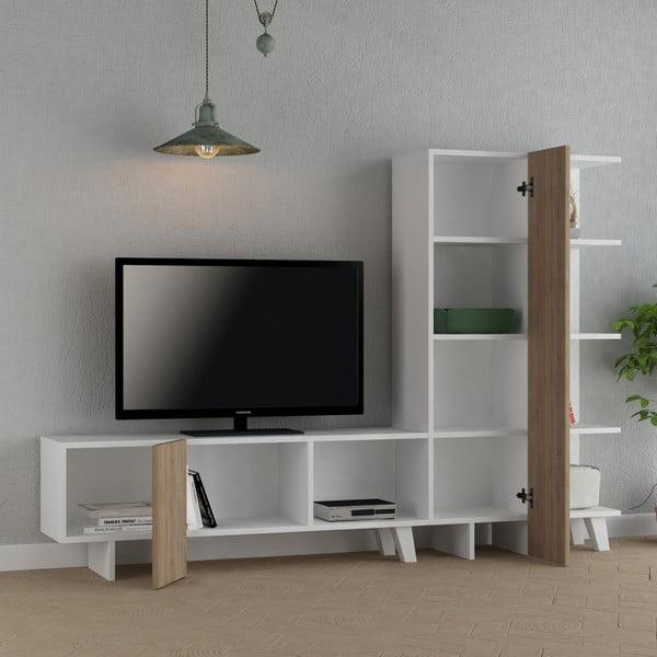 TV stolek Homitis Cago Dark Oak