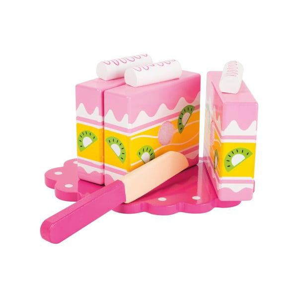 Detský drevený cukrárský set Legler Cake