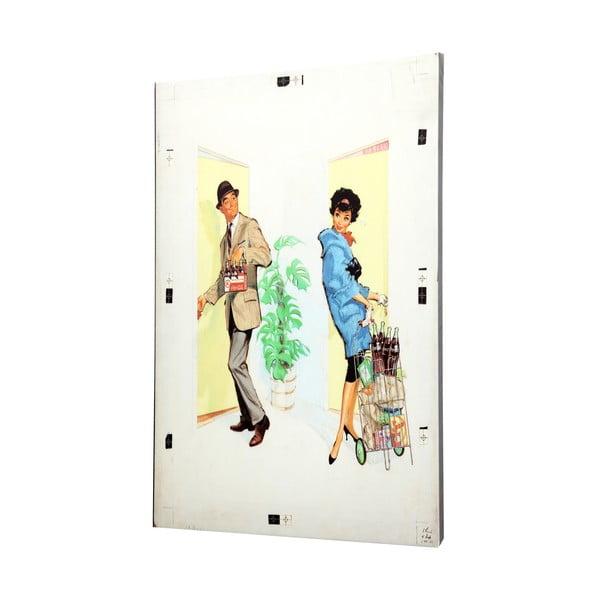 Plátno Retro, 50x70 cm